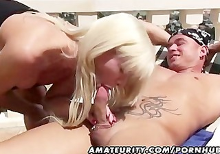 nasty non-professional milf anal and ejaculation