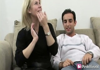 janine was having trouble driving her husbands