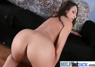 slut breasty horny milf on hard dark schlong