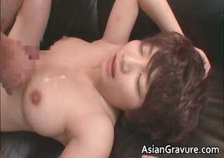 naughty asian d like to fuck acquires jizzed
